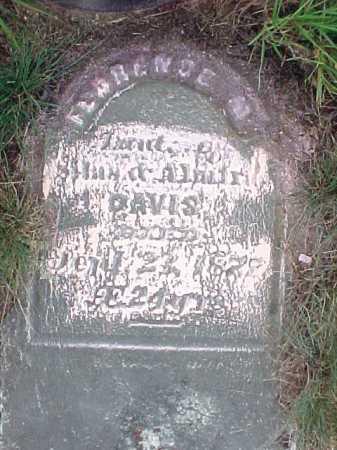 DAVIS, FLORENCE - Saratoga County, New York   FLORENCE DAVIS - New York Gravestone Photos