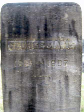 DAVIS, GEORGE - Saratoga County, New York   GEORGE DAVIS - New York Gravestone Photos
