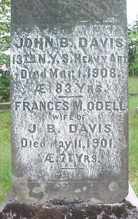 DAVIS, FRANCIS M - Saratoga County, New York | FRANCIS M DAVIS - New York Gravestone Photos