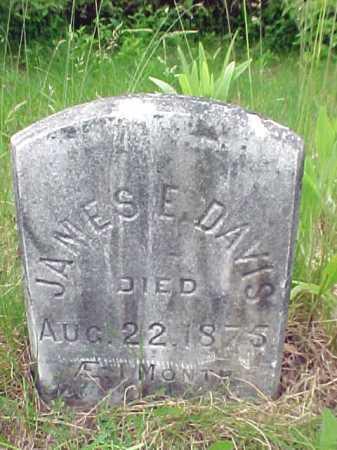 DAVIS, JAMES E - Saratoga County, New York | JAMES E DAVIS - New York Gravestone Photos