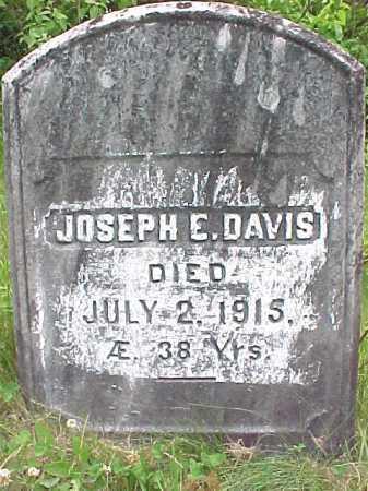 DAVIS, JOSEPH E - Saratoga County, New York | JOSEPH E DAVIS - New York Gravestone Photos