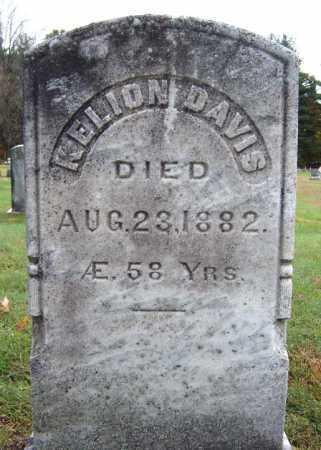 DAVIS, KELION - Saratoga County, New York | KELION DAVIS - New York Gravestone Photos