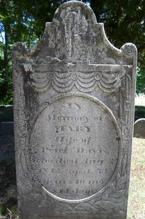 DAVIS, MARY - Saratoga County, New York   MARY DAVIS - New York Gravestone Photos