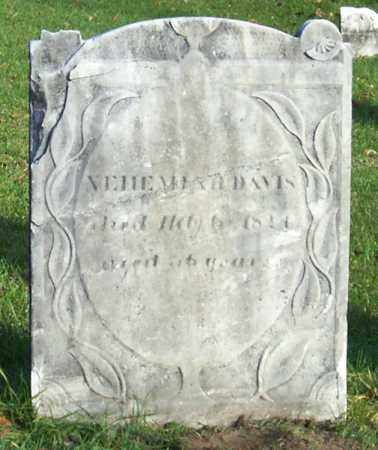 DAVIS, NEHEMIAH - Saratoga County, New York | NEHEMIAH DAVIS - New York Gravestone Photos