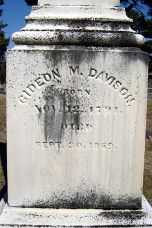 DAVISON, GIDEON MINER - Saratoga County, New York | GIDEON MINER DAVISON - New York Gravestone Photos