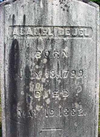 DEUEL, ASAHEL - Saratoga County, New York   ASAHEL DEUEL - New York Gravestone Photos