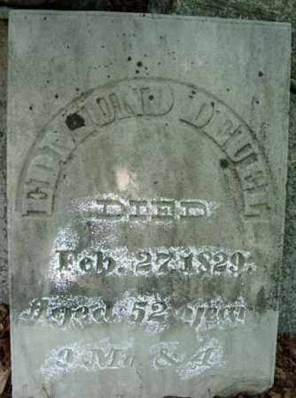 DEUEL, EDMUND - Saratoga County, New York   EDMUND DEUEL - New York Gravestone Photos
