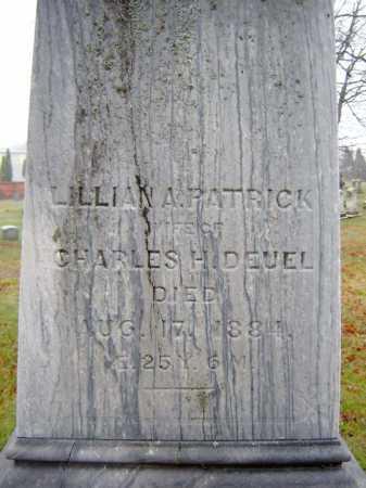 PATRICK, LILLIAN A - Saratoga County, New York   LILLIAN A PATRICK - New York Gravestone Photos