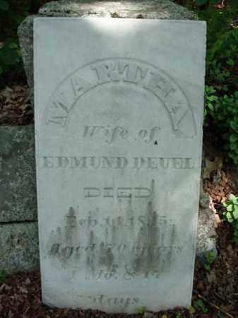 DEUEL, MARTHA - Saratoga County, New York | MARTHA DEUEL - New York Gravestone Photos