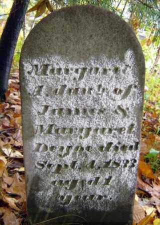 DEYOE, MARGARET - Saratoga County, New York | MARGARET DEYOE - New York Gravestone Photos