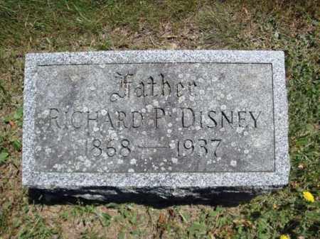DISNEY, RICHARD P - Saratoga County, New York | RICHARD P DISNEY - New York Gravestone Photos