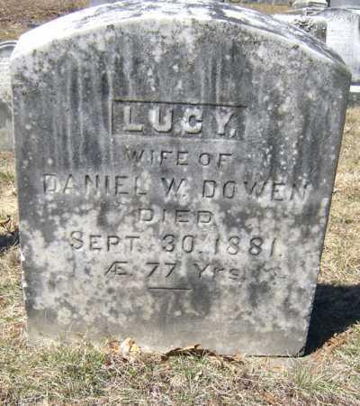 RYDER DOWEN, LUCY JANE - Saratoga County, New York | LUCY JANE RYDER DOWEN - New York Gravestone Photos