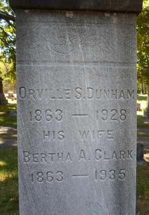 CLARK, BERTHA A - Saratoga County, New York   BERTHA A CLARK - New York Gravestone Photos