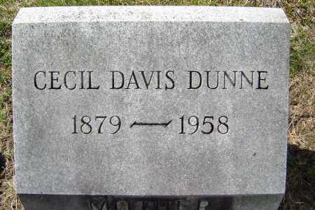 DUNNE, CECIL A - Saratoga County, New York | CECIL A DUNNE - New York Gravestone Photos