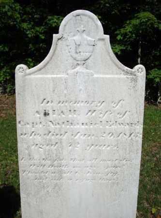EDWARDS, ABIAH - Saratoga County, New York | ABIAH EDWARDS - New York Gravestone Photos