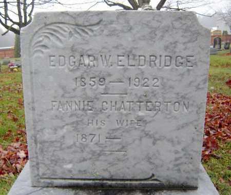 CHATTERTON, FANNIE - Saratoga County, New York | FANNIE CHATTERTON - New York Gravestone Photos