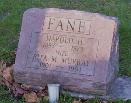 MURRAY FANE, RITA M - Saratoga County, New York | RITA M MURRAY FANE - New York Gravestone Photos