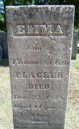FLAGLER, EMMA - Saratoga County, New York | EMMA FLAGLER - New York Gravestone Photos