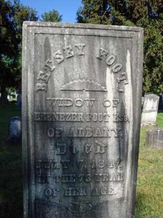 FOOT, BETSEY - Saratoga County, New York | BETSEY FOOT - New York Gravestone Photos