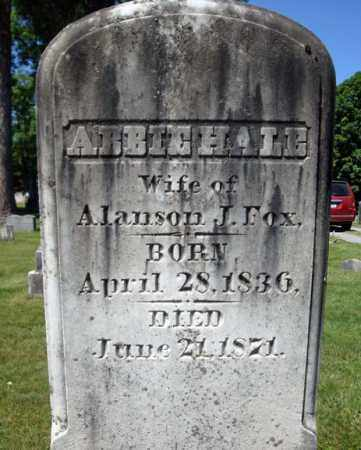 FOX, ABBIE - Saratoga County, New York | ABBIE FOX - New York Gravestone Photos