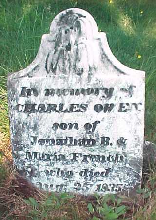 FRENCH, CHARLES OWEN - Saratoga County, New York   CHARLES OWEN FRENCH - New York Gravestone Photos
