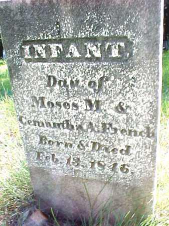 FRENCH, INFANT - Saratoga County, New York   INFANT FRENCH - New York Gravestone Photos