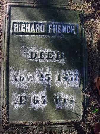 FRENCH, RICHARD - Saratoga County, New York   RICHARD FRENCH - New York Gravestone Photos