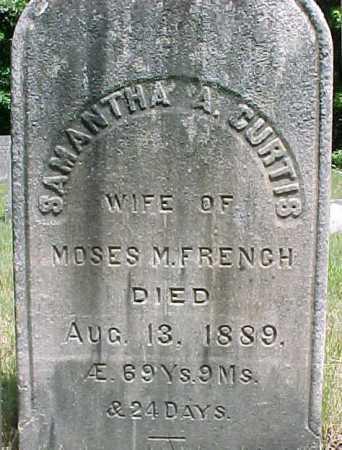 FRENCH, SAMANTHA A - Saratoga County, New York   SAMANTHA A FRENCH - New York Gravestone Photos