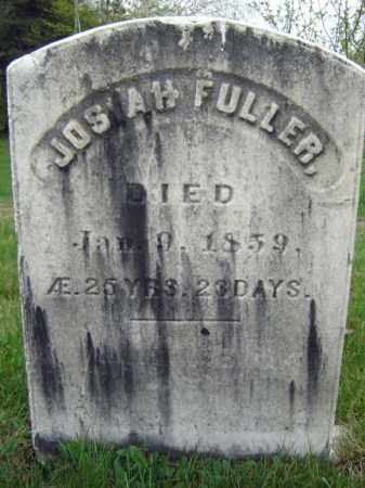 FULLER, JOSIAH - Saratoga County, New York | JOSIAH FULLER - New York Gravestone Photos