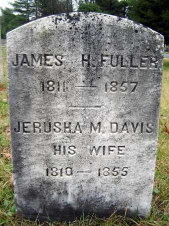 FULLER, JAMES H - Saratoga County, New York | JAMES H FULLER - New York Gravestone Photos