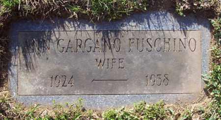 GARGANO, ANN - Saratoga County, New York | ANN GARGANO - New York Gravestone Photos
