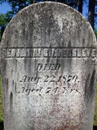 GILDERSLEVE, BENJAMIN - Saratoga County, New York | BENJAMIN GILDERSLEVE - New York Gravestone Photos