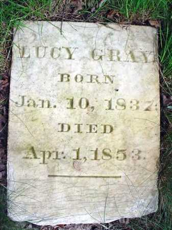 GRAY, LUCY - Saratoga County, New York | LUCY GRAY - New York Gravestone Photos