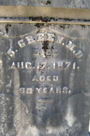 GREEN, S - Saratoga County, New York | S GREEN - New York Gravestone Photos