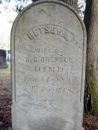 GRENELL, BETSEY A - Saratoga County, New York | BETSEY A GRENELL - New York Gravestone Photos