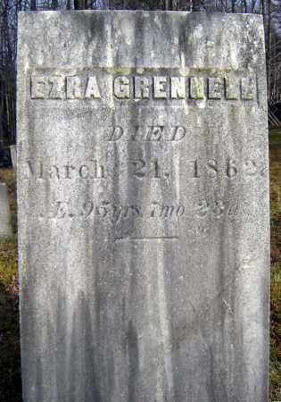 GRENELL, EZRA - Saratoga County, New York   EZRA GRENELL - New York Gravestone Photos
