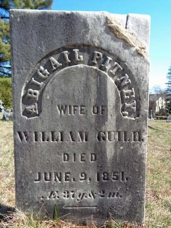 GUILD, ABIGAIL - Saratoga County, New York | ABIGAIL GUILD - New York Gravestone Photos