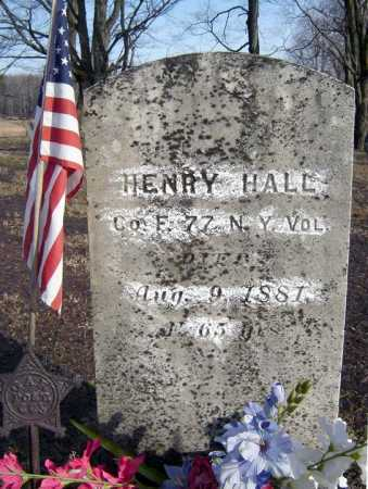 HALL (CW), HENRY - Saratoga County, New York | HENRY HALL (CW) - New York Gravestone Photos