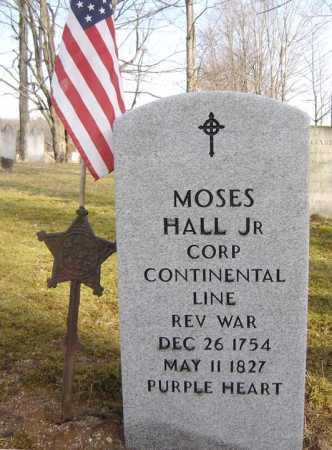 HALL (RW), MOSES - Saratoga County, New York | MOSES HALL (RW) - New York Gravestone Photos