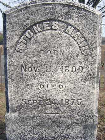 HALL, STOKES - Saratoga County, New York   STOKES HALL - New York Gravestone Photos