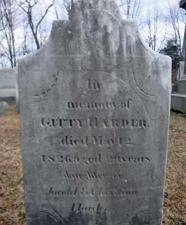 HARDER, GITTY - Saratoga County, New York | GITTY HARDER - New York Gravestone Photos