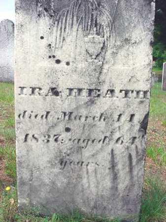 HEATH, IRA - Saratoga County, New York | IRA HEATH - New York Gravestone Photos