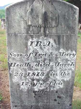 HEATH, IRA - Saratoga County, New York   IRA HEATH - New York Gravestone Photos