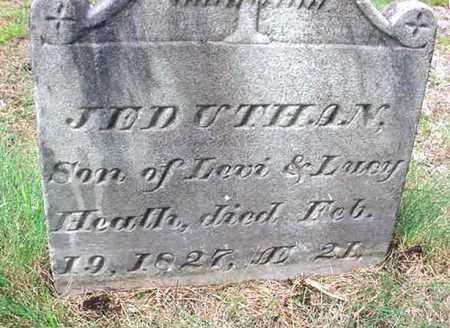 HEATH, JEDUTHAN - Saratoga County, New York   JEDUTHAN HEATH - New York Gravestone Photos