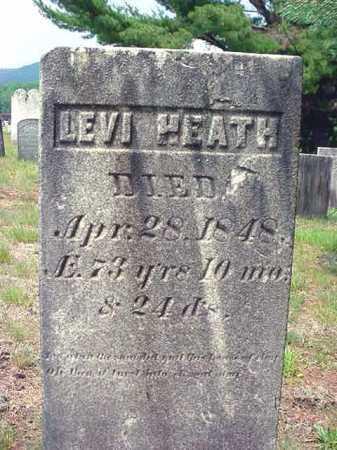 HEATH, LEVI - Saratoga County, New York | LEVI HEATH - New York Gravestone Photos