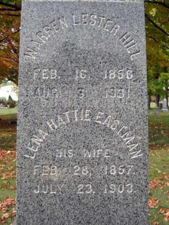 EASTMAN, LENA HATTIE - Saratoga County, New York   LENA HATTIE EASTMAN - New York Gravestone Photos