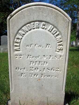 HOLMES (CW), ALEXANDER C - Saratoga County, New York   ALEXANDER C HOLMES (CW) - New York Gravestone Photos