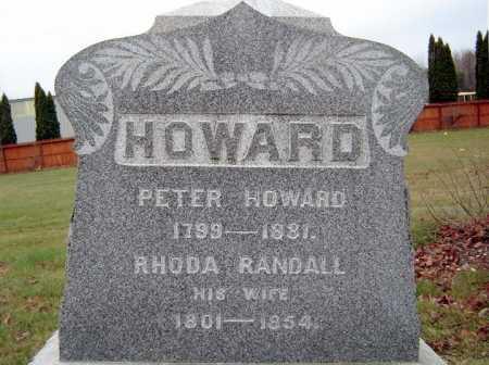 HOWARD, PETER - Saratoga County, New York | PETER HOWARD - New York Gravestone Photos