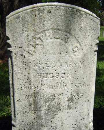 HUDSON, ARTHUR G - Saratoga County, New York   ARTHUR G HUDSON - New York Gravestone Photos