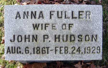 FULLER, ANNA - Saratoga County, New York | ANNA FULLER - New York Gravestone Photos
